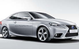 Phác họa Lexus IS Coupe